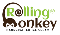 Logo | Rolling Monkey Handcrafted Ice Cream