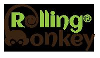 Logo | Rolling Monkey Handcrafted Ice Cream