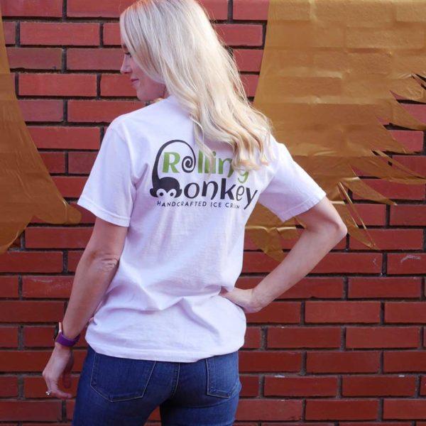 Rolling Monkey | T-Shirt | White